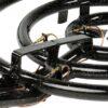 GrillSymbol Rengaspoltin ulko- sekä sisäänkäyttöön 40 cm, teho 25 KW