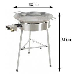 GrillSymbol Paella setti Basic-580