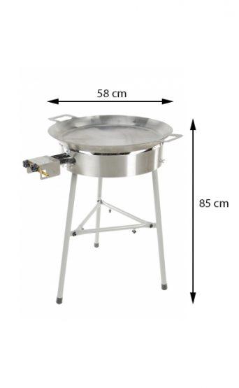 GrillSymbol paellapannu setti Basic-580