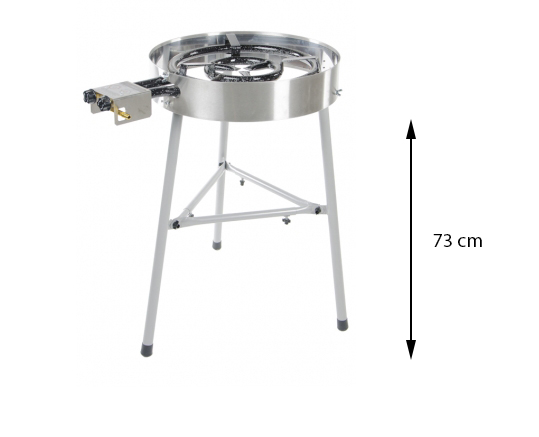 Supported Legs for Gas Burner