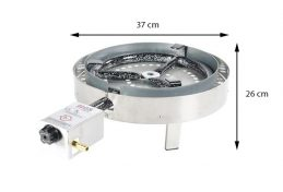 GrillSymbol Indoor and Outdoor Gas Stove TW-460i