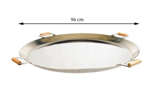 GrillSymbol Muurinpohjapannu FP-960 inox