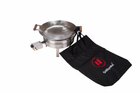 GrillSymbol wokkipannu setti PRO-450