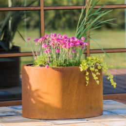 Corten Steel Planter Mia